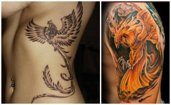 20 Imagenes Ave Fenix Tattoos Ideas And Designs