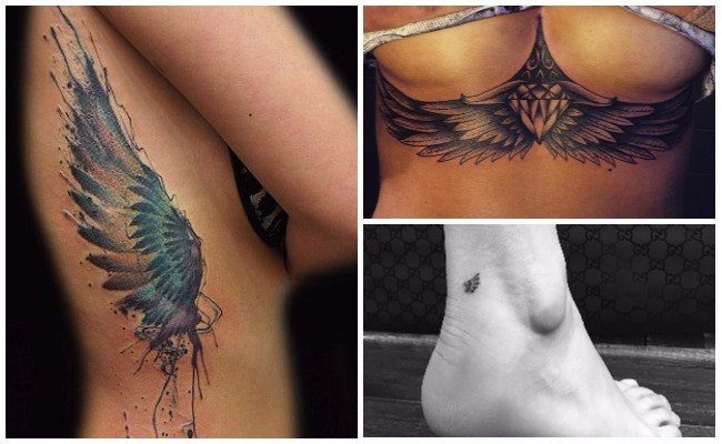 Tatuajes De Alas De ángel O De Lo Que Quieras Mira Diseños Y