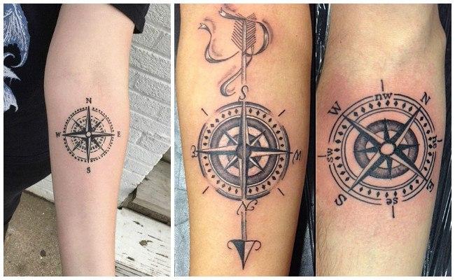 Tatuajes De Brújulas Y Su Significado Para Que No Pierdas El Norte