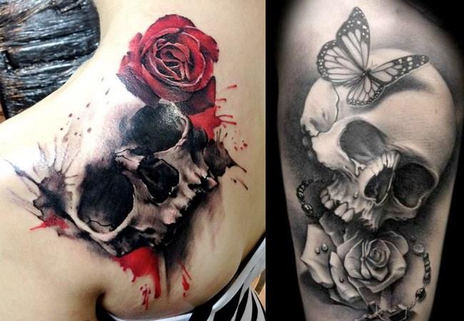 Imagenes De Tatuajes De Calaveras Diabolicas
