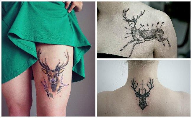 Tatuajes De Ciervos Y Venados Para Hombres Y Mujeres