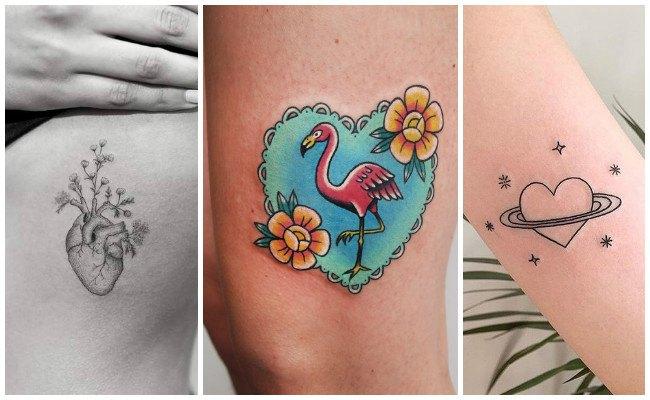 Tatuajes De Corazones Para Mujeres En El Hombro