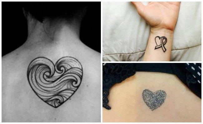 Tatuajes Pequenos De Corazones Para Mujer