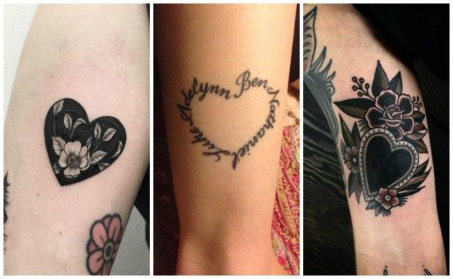 Pequenos Disenos De Corazones Para Tatuajes