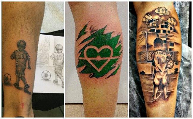 Tatuajes De Fútbol Para Los Amantes Del Deporte Rey