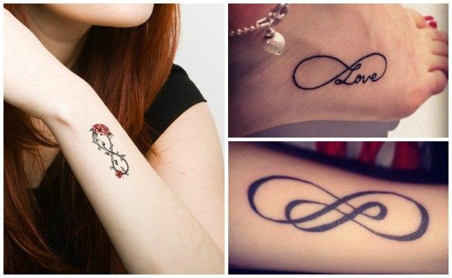 Los Tatuajes De Infinito Significado Con Nombres O Iniciales