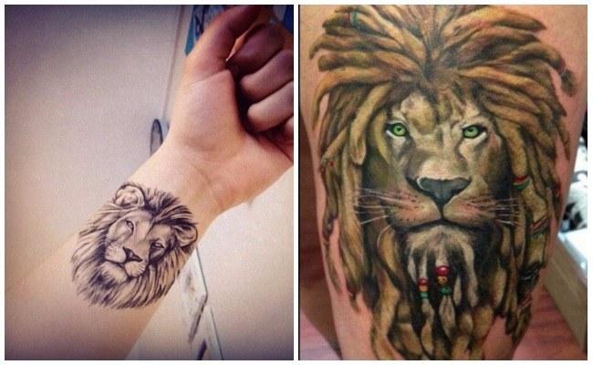 Tatuajes De Familia De 4 Leones