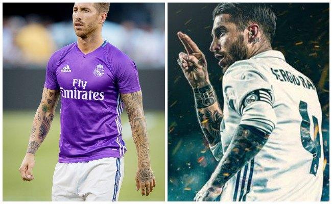 Los Tatuajes De Sergio Ramos Actualizado
