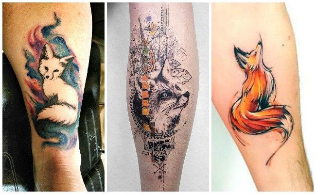 Tatuajes De Zorros Y El Significado De Este Astuto Animal