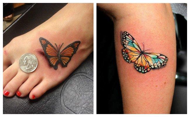 Los Bonitos Tatuajes De Mariposaspara Mujeres Y Hombres