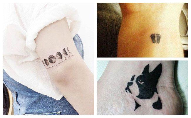 Bonitos Tatuajes Pequeños Y Minimalistas Te Van A Encantar