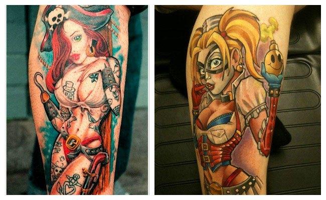 Los Tatuajes De Pin Up Las Más Famosas Y Su Significado