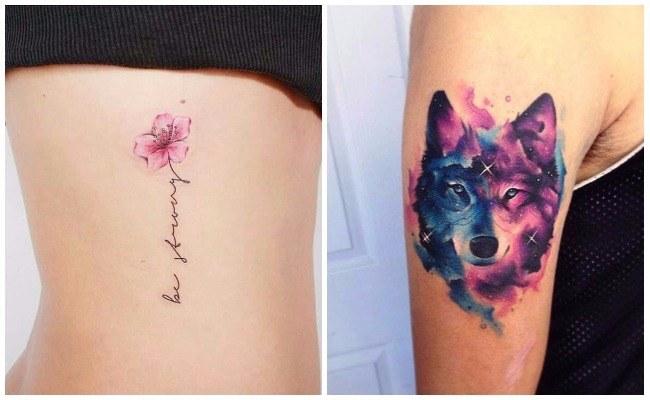 Tatuajes De Acuarela Duración Diseños Y Controversia De Esta Técnica