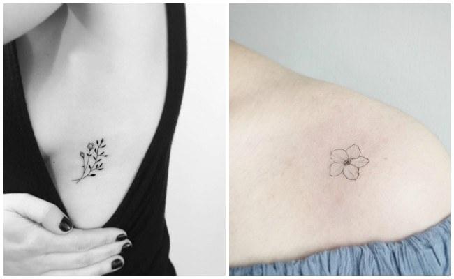 Tatuajes De Flores Con Significadoideas Imágenes