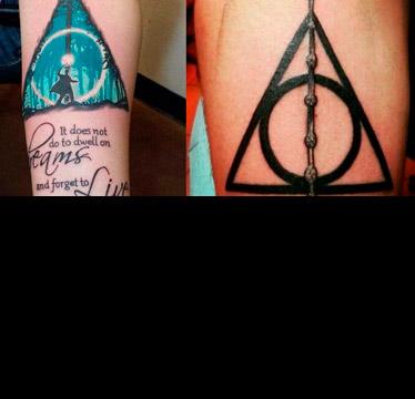 Tatuajes De Harry Potter Que Un Muggle No Entenderá