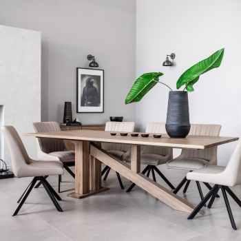 meubles en chene table a manger