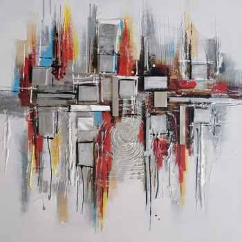 tableaux abstraits zen contemporain