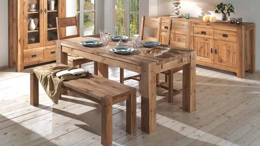 meubles montagne table a manger