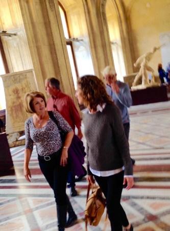 Louvre, Joan and Rebekah
