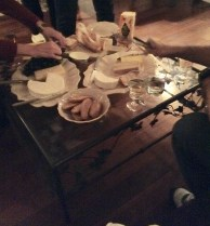 """Cheese platter """"the kids"""" made us"""
