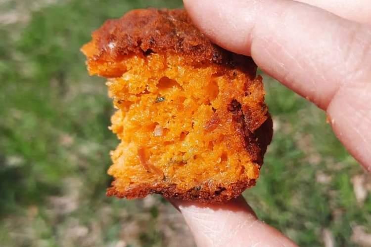 Cake, chorizo, poivron