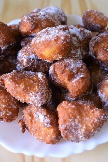 pets-de_nonnes, pączki smazone, pączki przepis, ciasto ptysiowe przepis