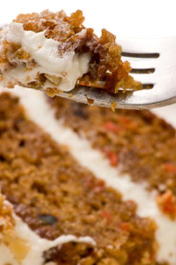 gâteau, cake, carottes, pâte, crème,