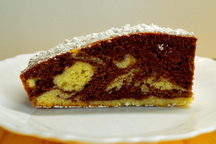 ciasto, ciasto zebra, kakao