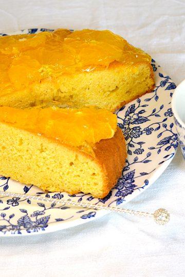 cake, à l'orange, idées gouter, gâteaux