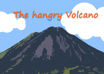 Hangry volcano Title page