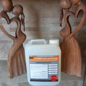 traitement proteteur de la pierre hydrofuge/oléofuge