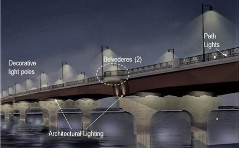 Bridge Concept Lighting Rendering