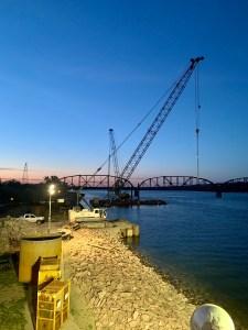 Night time crane bridge_5.18.21