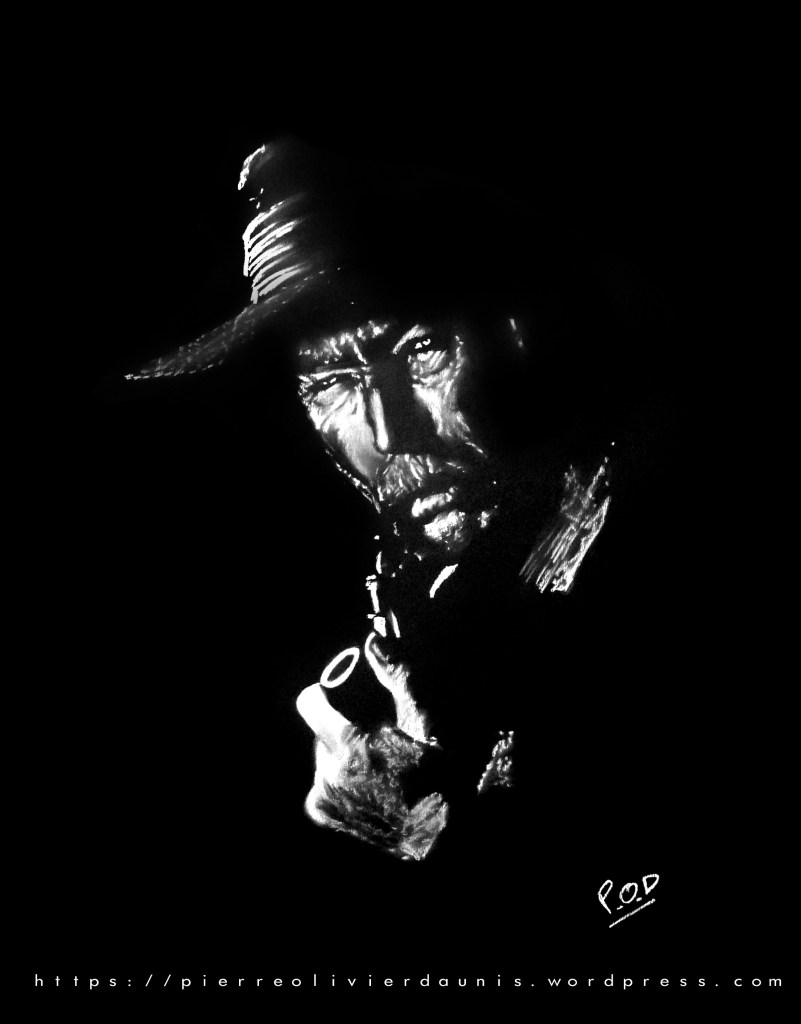 lee van cleef portrait