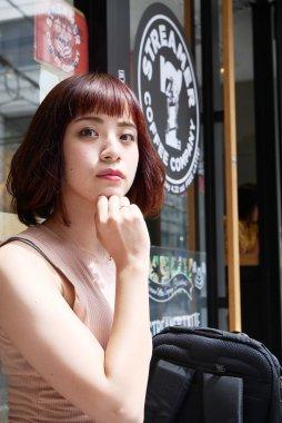 大阪 アメリカ村 モデル:奈緒季