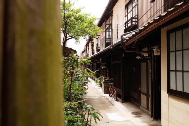 京都 あじき路地