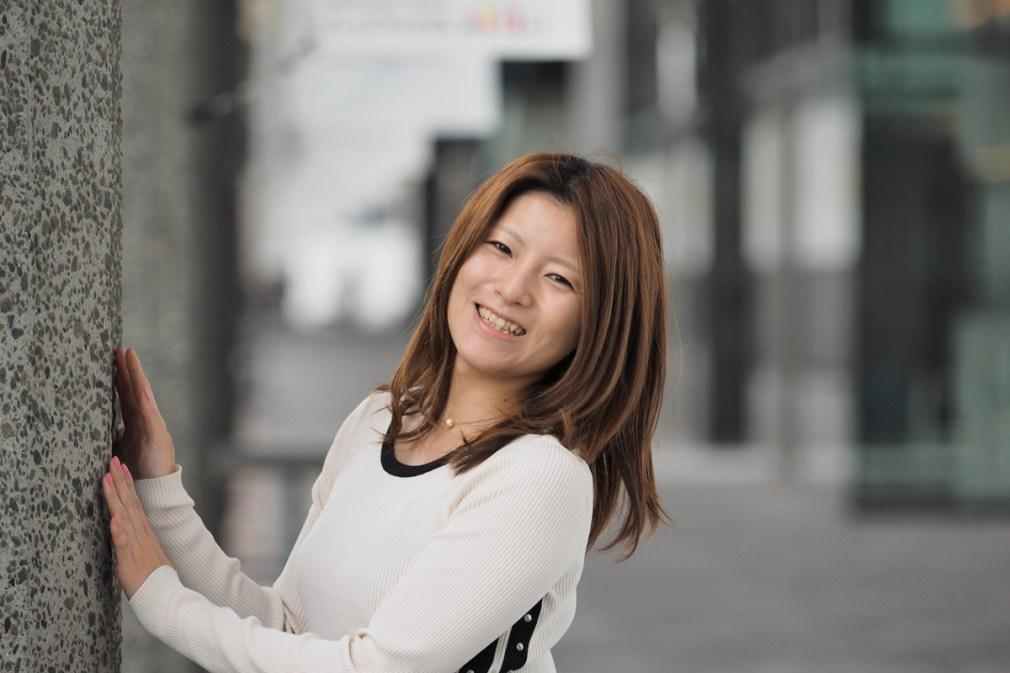大阪 グランフロント大阪 (モデル:沙織さん)
