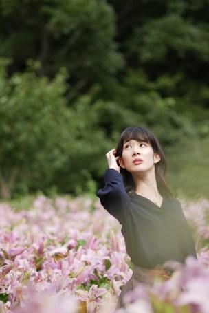 神戸 布引ハーブ園 モデル:綾奈ちゃん