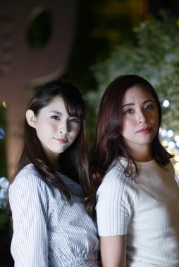 大阪 ハービスエント モデル:奈緒季と遥花