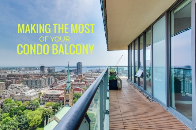 Making The Most Of Your Condo Balcony Ideas And Inspiration