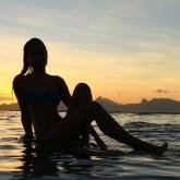 Vahine Tahiti lagoon Taapuna