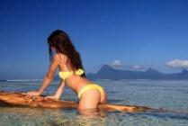 vahine polynésienne Tahiti