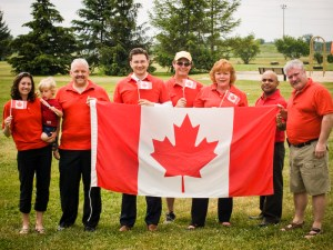 From Right to Left, Jenna Swinwood, Cadence St-Louis, David Vesey, Pierre Poilievre, Victor Hanna, Jan Harder, Sujoy Baichoo, Darrell Bartraw