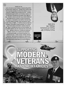 Supporting Modern Veterans - front