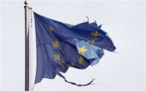 EU Flag - Tatters