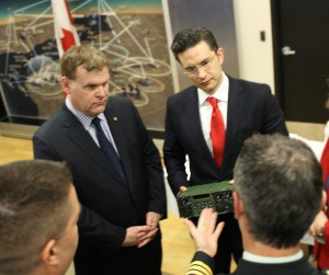 John Baird and Pierre Poilievre Oct 2014