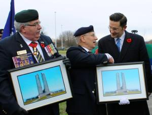 Poilievre - Vimy Memorial Bridge (1)