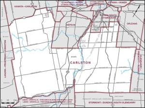 Carleton Riding Map