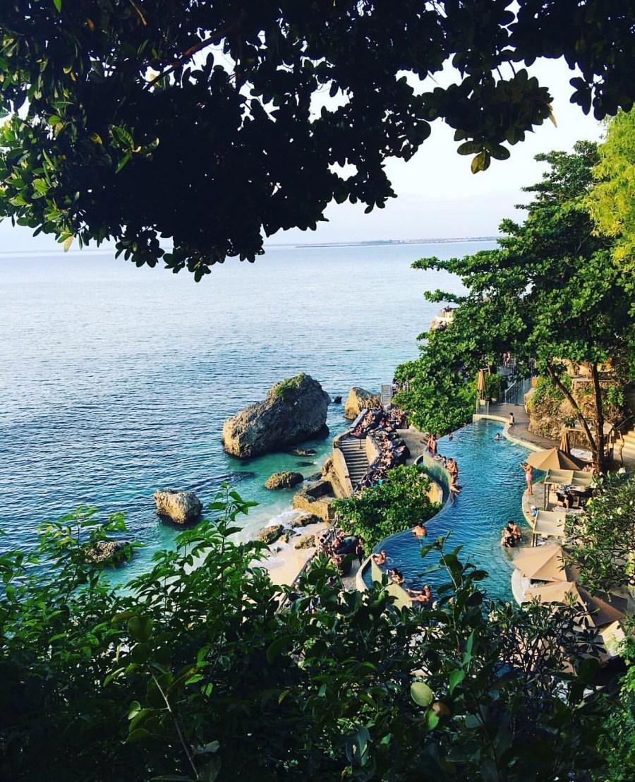 Ocean Beach Pool - Ayana Hotel - BALI