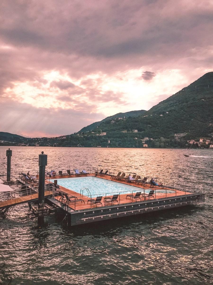 pool Mandarin Oriental Lago di Como
